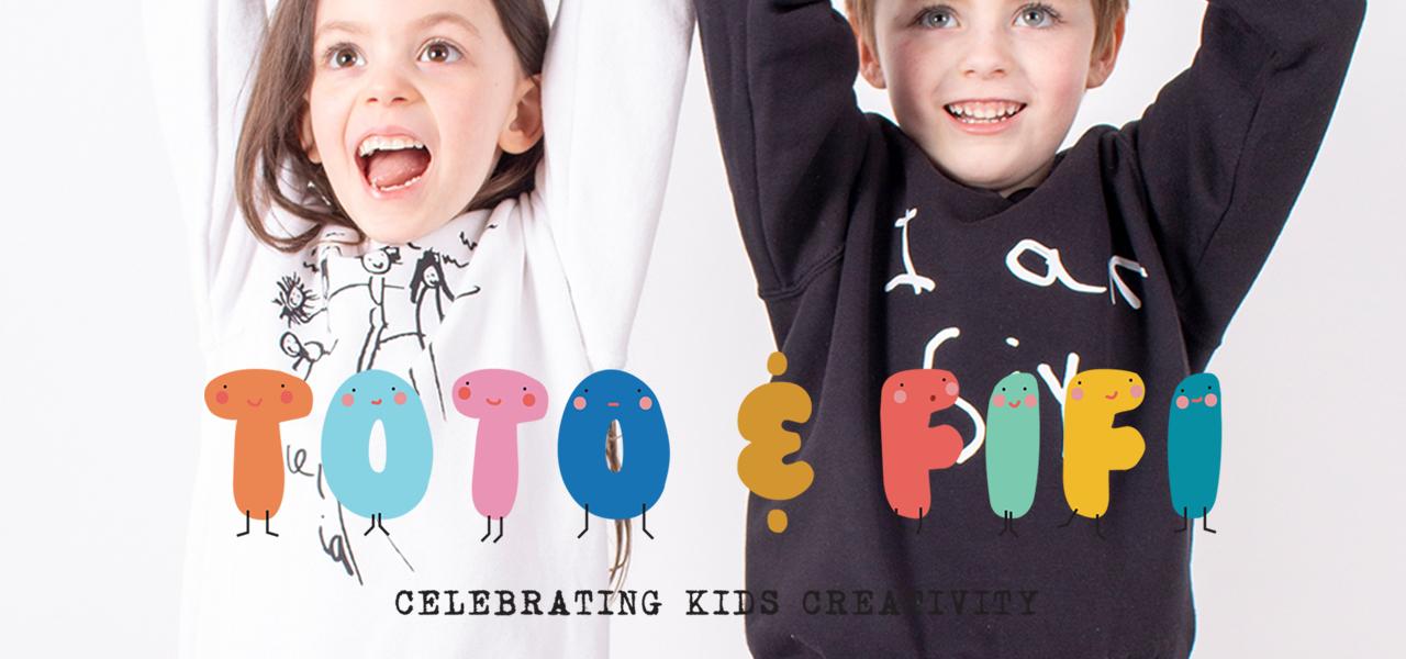 TOTO & FIFI - personalised prints kids drawings