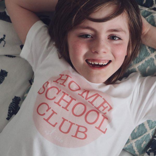 home school club t-shirt